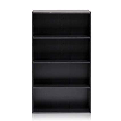Amazon.com: Furinno 11209EX Pasir 4 Tier Open Shelf, Espresso: Kitchen & Dining