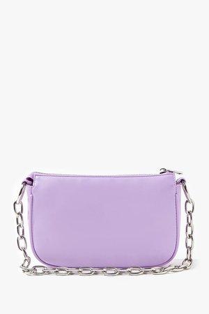 Faux Leather Shoulder Bag | Forever 21