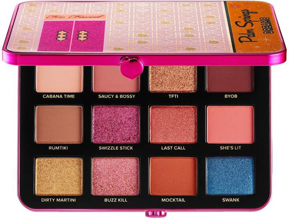 Palm Spring Dreams Eyeshadow Palette Peaches and Cream Collection