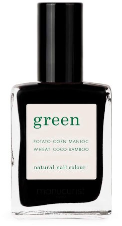 Green Nail Lacquer - Licorice