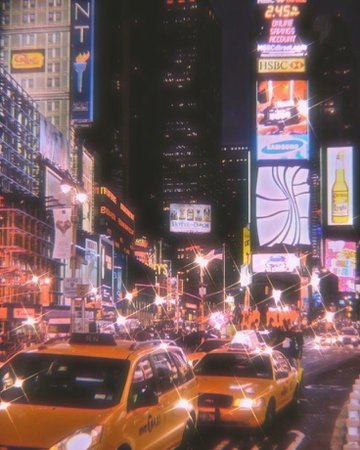 new york at night aesthetic -