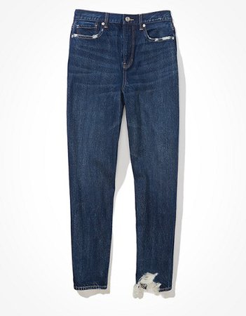 AE Relaxed Mom Jean blue