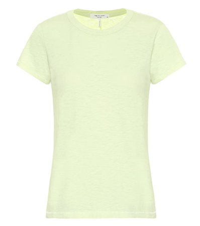 Rag & Bone The Tee Cotton T-Shirt