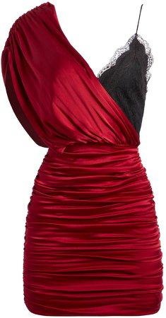 Bianca Lace Fitted Mini Dress