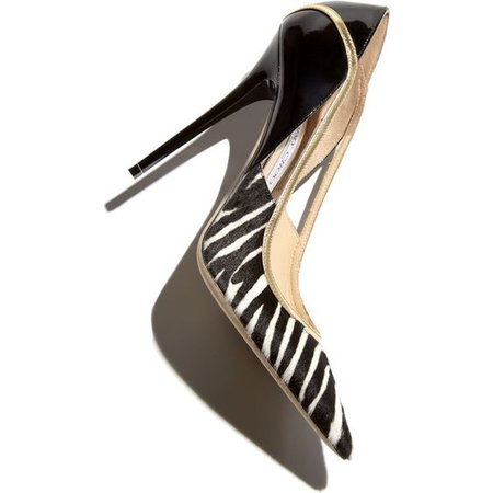 Jimmy Choo Viper Calf Hair Stiletto Pump