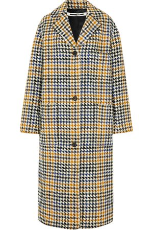 McQ Alexander McQueen | Houndstooth wool-blend coat | NET-A-PORTER.COM
