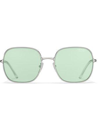 Prada Eyewear Decode Oversized Sunglasses - Farfetch