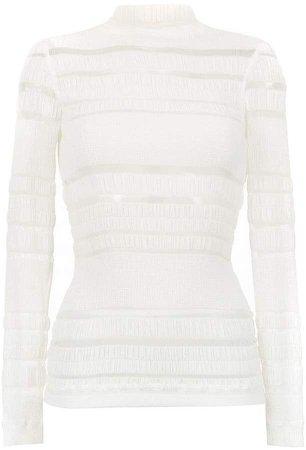 À La Garçonne long sleeved Ruga blouse
