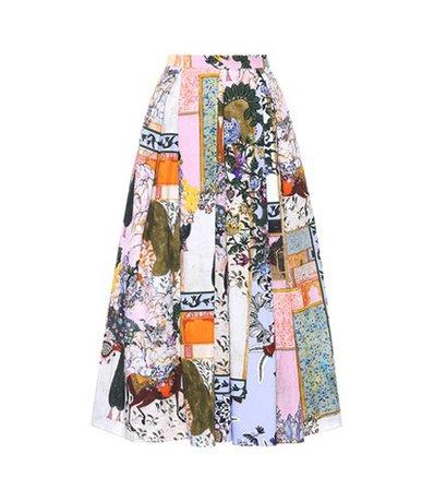 Elena cotton skirt