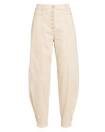 Ulla Johnson Brodie Cropped High-Rise Jeans | INTERMIX®