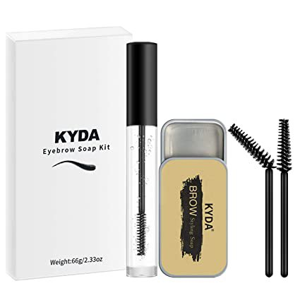 Amazon.com : KYDA Eyebrow Soap Kit, Waterproof Long Lasting Eyebrow Soap Liquid Eyebrow Setting Gel Brows Styling Soap, for Natural Eyebrow Styling Makeup : Beauty