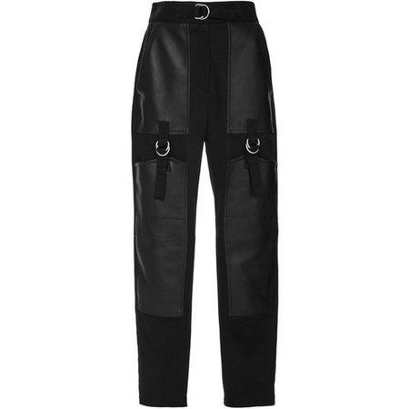 Alexander Wang High Waisted Cargo black Pant