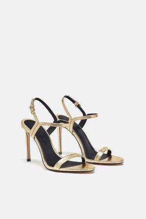 SANDALIA TIRA FINA - Party Shoes-ZAPATOS-MUJER   ZARA España