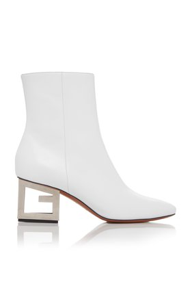 Givenchy Patent-Leather Ankle Boot