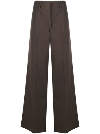 Lemaire wide-leg tailored trousers