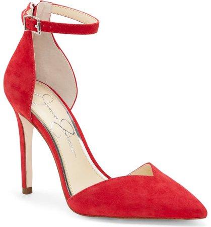 Jessica Simpson Paisleah Ankle Strap Pump (Women) | Nordstrom