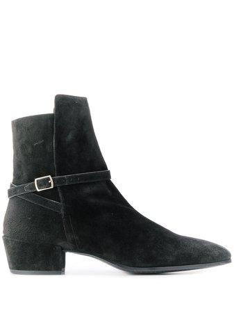 Saint Laurent Clementi Suede Boots Ss20
