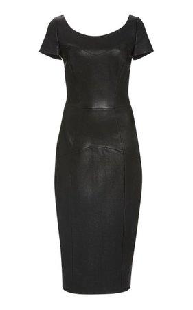 Pleasure Leather Midi Dress By Lena Hoschek   Moda Operandi