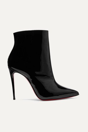 Christian Louboutin | So Kate Booty 100 patent-leather ankle boots | NET-A-PORTER.COM