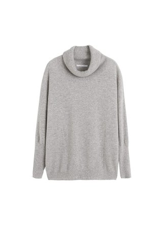 Violeta BY MANGO Turtleneck 100% cashmere sweater