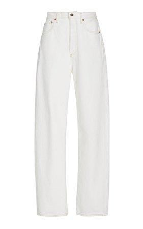 '90s Pinch High-Rise Straight-Leg Jeans By Agolde | Moda Operandi