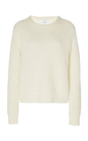 Boreas Waffle-Knit Cashmere Sweater by Madeleine Thompson | Moda Operandi