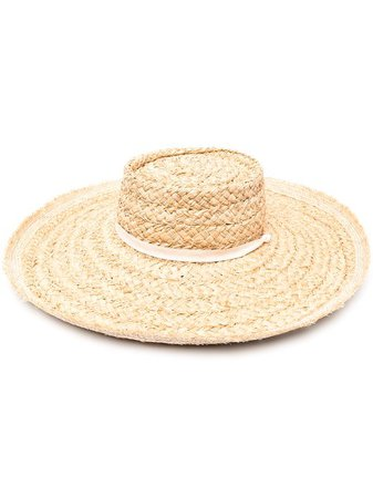 Zimmermann wide-brim Straw Hat - Farfetch