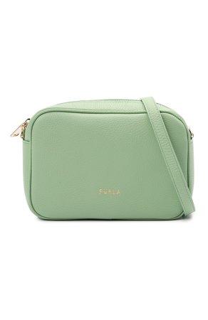 Женская зеленая сумка furla real small FURLA — купить за 24650 руб. в интернет-магазине ЦУМ, арт. WB00243/HSF000