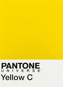 Pantone Yellow C | Yellow | Pantone, Color card, Yellow pantone