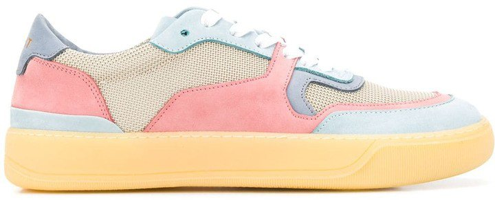 Rov Panelled Low-Top Sneakers