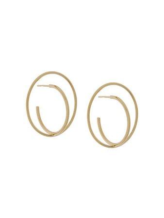 CHARLOTTE CHESNAIS Saturn medium earrings