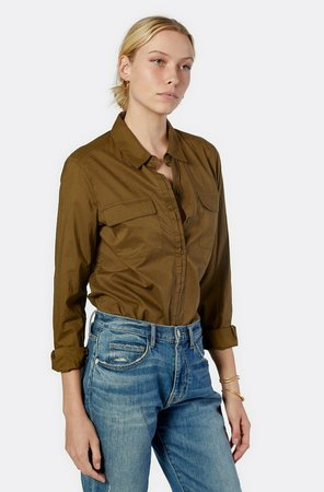 Ula Long Sleeve Cotton Top