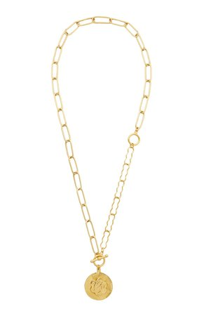 Gold-Tone Around The World Necklace by Brinker & Eliza | Moda Operandi