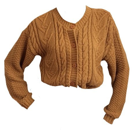brown sweater png