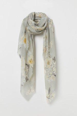 Airy Scarf - floral - Ladies | H&M US