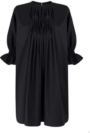 Emily Black Short Dress