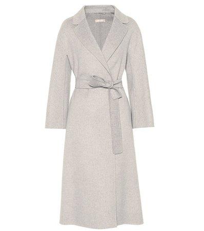 Esturia double-face wool coat