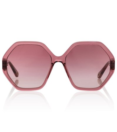 Chloé - Esther hexagonal sunglasses | Mytheresa