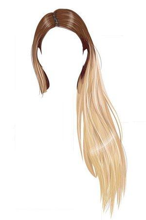 Transparent Hair Art