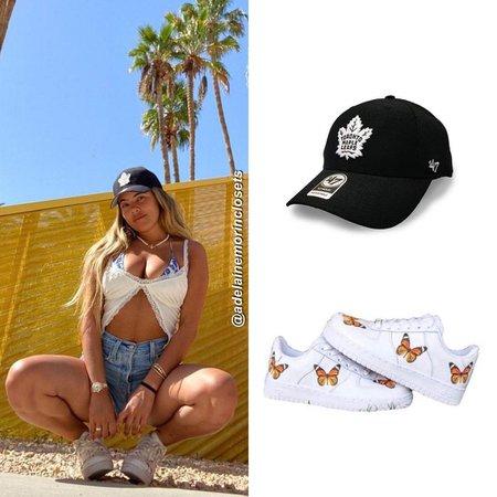 DripCreationz Monarch Orange Butterfly D1 (@adelainemorinclosets)