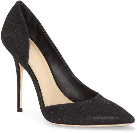 Imagine Vince Camuto Orre Half d'Orsay Pointed Toe Pump