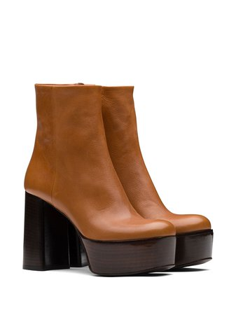 Prada Platform Ankle Boots - Farfetch