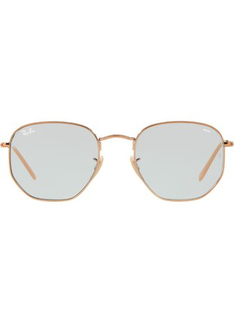 Ray-Ban Hexagonal-Frame Sunglasses Ss20 | Farfetch.Com