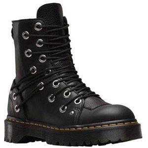 Women's Daria Multi Eye Boot - Black Lausanne Nappa Boots