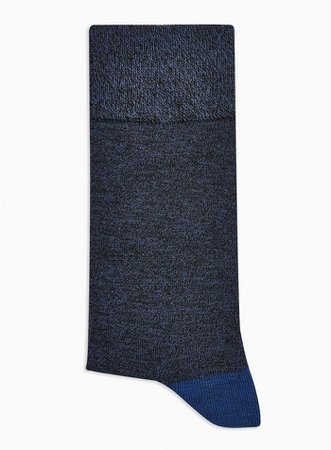 Navy and Black Twist Socks | Topman
