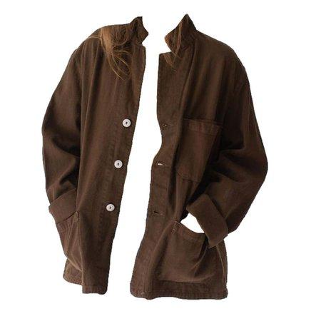 brown coat jacket png