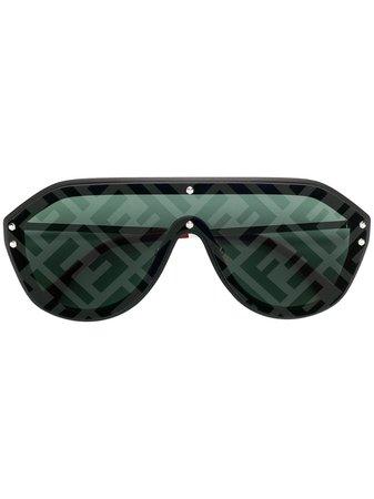 Fendi Eyewear Aviator Style Sunglasses - Farfetch