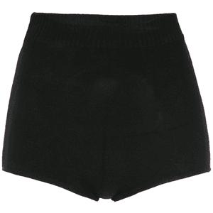 Reinaldo Lourenço high waisted shorts BLACK