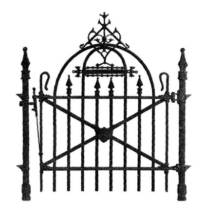 Fence Clipart scary 4 - 741 X 800 | Dumielauxepices.net