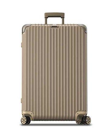 "Rimowa North America Topas Titanium 32"" E-Tag Multiwheel Spinner Luggage"